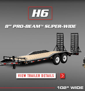 PJ Trailers Dump, Gooseneck, Tilt, Equipment, ATV, & Utility