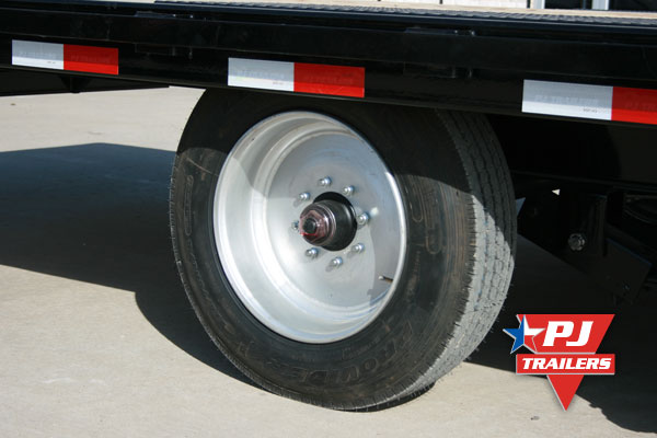 Single Axle Tires : Pj trailers in trailer wheels and tires