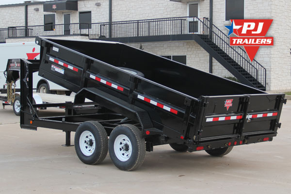 Jersey City Car Dealers >> PJ Trailers Black Powder Coat