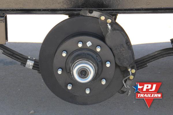 7 000 Lbs Hydraulic Disc Brakes