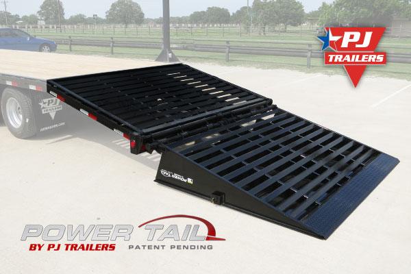 Pj Trailers Power Tail Patent Pending