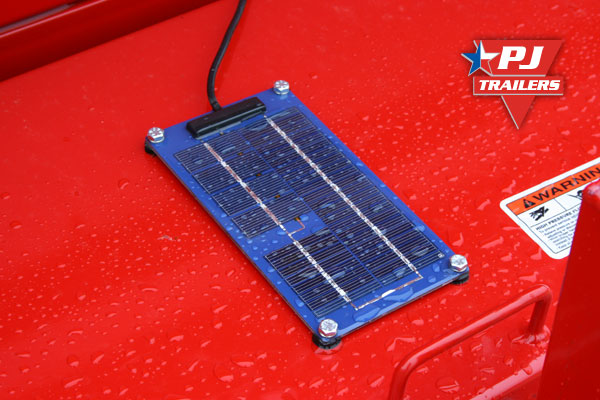 Pj Trailers Solar Battery Charger