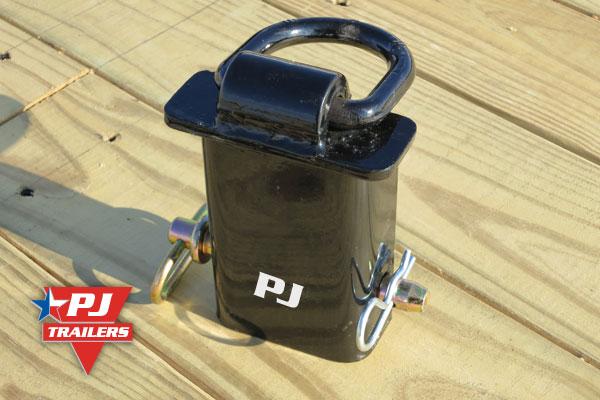 pj trailers stake pocket d rings adjustable