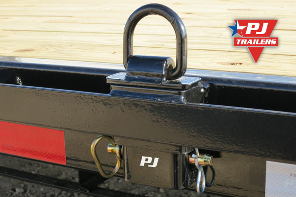 D And D Trailers >> Pj Trailers Stake Pocket D Rings Adjustable