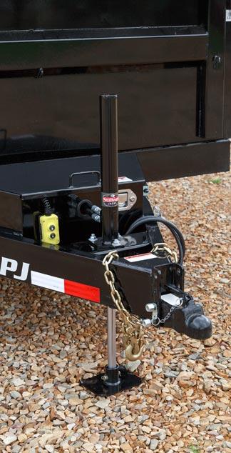 PJ Trailers Stillwell 7K Hydraulic Trailer Jack