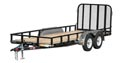 "72"" Tandem Axle Channel Utility"