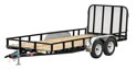 "77"" Tandem Axle Channel Utility"