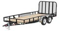"83"" Tandem Axle Channel Utility"